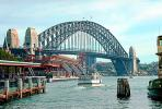 Sydney Harbor Bridge, Steel Through Arch Bridge, CDAV01P04_10.1515
