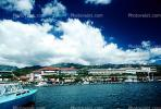 Shops, Buildings, Coastline, boats, Papeete, CDPV01P01_13