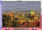 Skyline, buildings, Prague, Church of Saint Nicholas, building, dome, CECV01P08_08