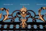 Ornate Gate, Wrought Iron, Hradcany Castle, Prague, Ironwork, metalwork