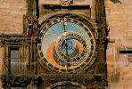 Astronomical Clock, Old Town Square, Prague, Round, Circular, Circle, outdoor clock, outside, exterior, building, CECV02P01_14.1516