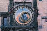 Astronomical Clock, Old Town Square, Prague, Round, Circular, Circle, outdoor clock, outside, exterior, building, CECV02P01_14