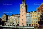 Clock Tower, buildings along the Vltava River, Shoreline, CECV02P04_04.1516