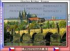 Charles Bridge, Vltava River, Prague Castle, Shoreline, CECV02P04_07