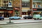 cars, Astey's, Peter Land, Evans, Swansea, England, automobile, vehicles, 1960's