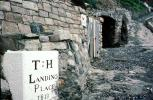 T:H Landing Place, 1819, Trinity Place, Lundy, England, 1950's, CEEV01P15_14