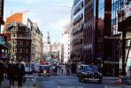 Taxi, street, buildings, cars, London, CEEV02P10_13
