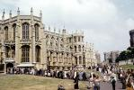 St George's Chapel, Windsor Castle, England, landmark, Anglican Church, 1950's, CEEV05P11_04
