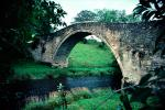 Arch Bridge over Creek, Brig O' Doon, Alloway, Ayrshire, Scotland, CEEV06P11_01