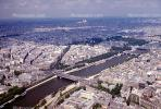 River Seine, streets, homes, bridges, buildings, CEFV01P01_02.2584