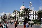 Hotel Necresco, Palm Trees, Building, Street, Dome, CEFV04P15_12