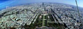 Paris Skyline from the top of the Eiffel Tower, CEFV06P06_13