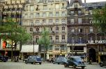 Cinema et Publicite, Heyraud, Marie Firance, Citroen 2CV, Renault Cars, automobile, vehicles, Champs Elysees, May 1959, 1950's, CEFV07P02_18