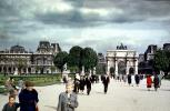 The Louvre, May 1959, 1950's, CEFV07P03_19