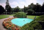 Water Fountain, aquatics, Pool, Pond, Flowers, Walkway, Weinheim, CEGV01P01_04.2587
