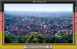 Rooftops, Cityscape, Weinheim, Red Roofs, Valley, Village, Town, CEGV01P02_02
