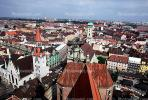 Red Roofs, Rooftops, Cityscape, Munich, CEGV01P14_16.2588