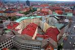 Red Roofs, Rooftops, Cityscape, Munich