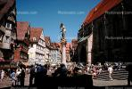 Statue, Buildings, Homes, Houses, Tubingen, CEGV02P02_19.2588