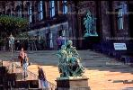 Statues, steps, Dresden