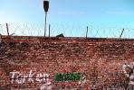 Barbed Wire, Brick, the Wall, Berlin