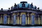 Sanssouci, garden facade, Atlas and Caryatids, Berlin