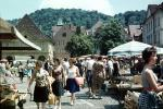 Women, Shoppers, Farmers Market, Neustadt, 1960's