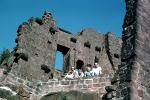 ruins, castle, building, family, wall, Heidelberg