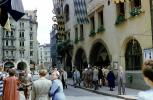Buildings, crowded streets, Munich, CEGV07P07_05