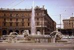 Water Fountain, aquatics, Statues, Viaggiare CIT, Rome, 1950s, CEIV01P02_01