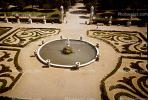 Water Fountain, aquatics, round, circle, manicured gardens, Rome, CEIV01P02_17