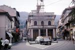 Buildings, Rail, Cars, automobile, vehicles, Stresa, 1950s, CEIV01P02_19