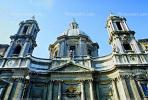 Sant'Agnese in Agone, Baroque Piazza Navona, Rome, famous landmark, CEIV01P10_05