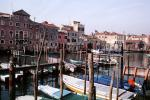 Boats, docks, buildings, Venice, CEIV03P15_19