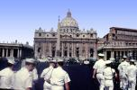 Navy Sailors in Uniform, St. Peter's Basilica, San Pietro in Vaticano, CEIV09P01_10