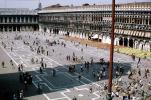 Piazzetta San Marco, buildings, July 1968, 1960's, CEIV10P14_15