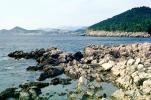 rocks, shore, shoreline, Adriatic Sea, Dubrovnick, CEKV01P03_16