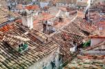 Red Rooftops, buildings, tile, chimneys, Dubrovnick