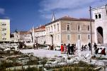 buildings, ruins, The Forum, Zadar, Slovenia