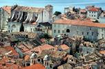 Red Rooftops, Buildings, skyline, Adriatic Sea