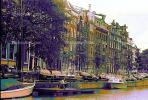 Boats, Canal, Waterway, Homes, Amsterdam, CENPCD2930_001B