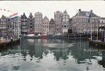 Water, Buildings, harbor, cars, homes, Amsterdam, CENV01P01_06