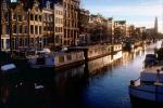 Canal, Floating Homes, Houseboats, Waterway, Amsterdam