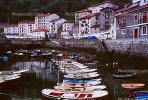 Shore, coastal, buildings, waterfront, boats, harbor, CEOV01P09_17