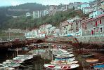 Shore, coastal, buildings, waterfront, boats, harbor, CEOV01P10_02.1720