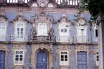 Ornate Building, windows, doors, Rococo, balcony, statues, CEPV01P07_04