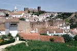 Castle, buildings, homes, houses, Obidos, CEPV01P08_11