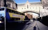 doubledecker bus, arch bridge, Dublin, CERV01P05_06