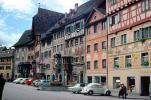 Parked Cars, Volkswagen, VW-Beetle, Wall Paintings, Building, Switzerland