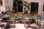 Outdoor Cafe, chairs, tables, Furniture, Kithnos, CEXV01P04_08.1722